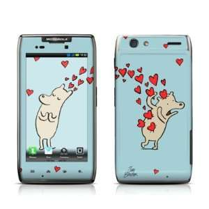 Heart Attack Design Protective Skin Decal Sticker for Motorola Droid