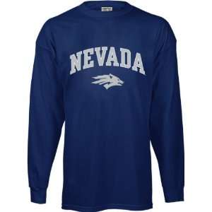 Nevada Wolf Pack Kids/Youth Perennial Long Sleeve T Shirt