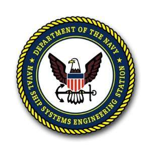 US Navy Ship Systems Engineering Stations Decal Sticker 3