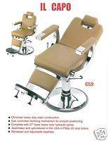 NEW PIBBS #659 CAPO BARBER CHAIR / SALON ALL PURPOSE CHAIR, AMERICAN