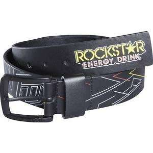 Fox Racing Rockstar Star to Finish Belt   Medium/Black