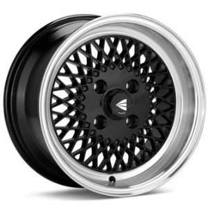 Enkei ENKEI92 Black (15x8 +25 4x114.3)    Set of 4 Wheels Automotive