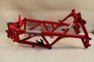 Ducati 1098 2008 Main Frame Assembly Chassis BENT PARTS ONLY