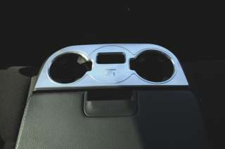 T1 Series Billet Interior Center Console Cup Holder   Brushed   Models