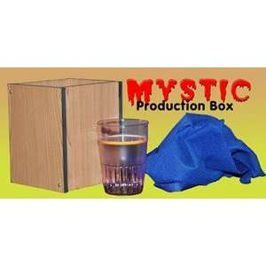 Mystic Production Box w/ Glass Stage Magic Trick Set EZ