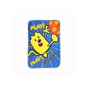 Wow Wow Wubbzy   Bedding   Ultra Soft Plush Blanket Baby