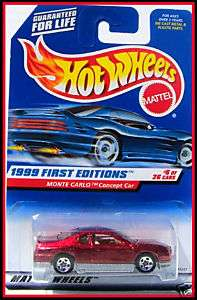 1999 Hot Wheels # 910 Monte Carlo Concept Car