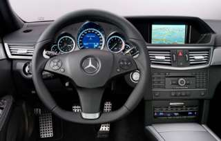 MERCEDES W207 W212 AMG LEATHER STEERING WHEEL ___ E CLASS
