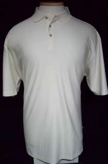 Silk Cotton Tommy Bahama POLO Shirt 3XLT Ivory 694452433877
