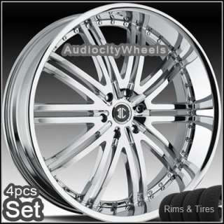24 inch wheels and tires land range rover fx35 rims sku lan24d10052cp