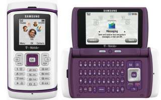 NEW SAMSUNG T559 COMEBACK GSM CELL PHONE AT&T UNLOCKED PURPLE