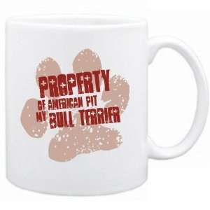 New  Property Of My American Pit Bull Terrier  Mug Dog