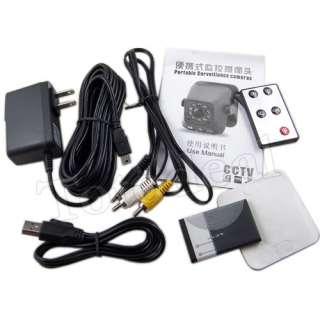 Mini Surveillance Motion Detection Video Recording Camera