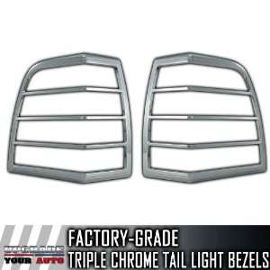 2007 2012 Ford Expedition 2pc Chrome Tail Light Bezels