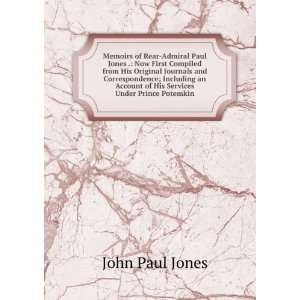 His Services Under Prince Potemkin John Paul Jones  Books