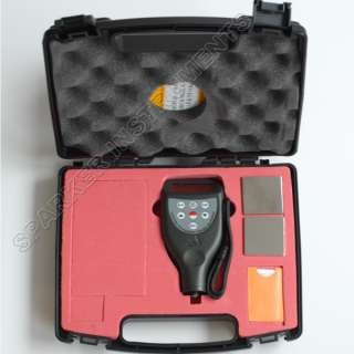 Paint Coating Thickness Meter Gauge Built in F/NF Probe
