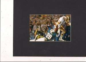 WASHINGTON REDSKINS JOHN RIGGINS SUPER BOWL GAME PHOTO