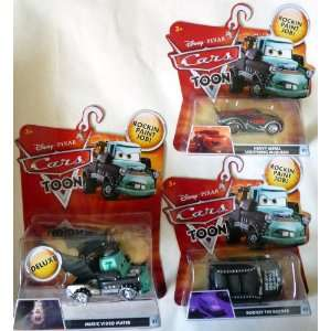 Mater, Heavy Metal Lightning McQueen & Rodney the Rocker Toys & Games