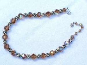 VTG VENDOME CRYSTAL RHINESTONE NECKLACE JEWELRY 772
