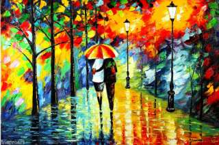 VALUBLE BRIGHT EYECATCHING AMAZING OIL PAINTING HUGE SIZE MODERN ART