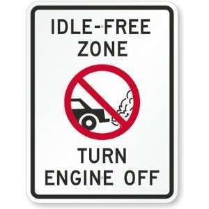 Idle Free Zone, Turn Off Engine (with Graphic) Engineer