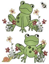 FROG FROGGY BABY NURSERY WALL ART STICKER DECALS DECOR