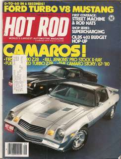 Hot Rod Mag   Sept 1976   Ford Turbo V8 Mustang