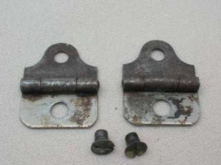MONTGOMERY WARDS TREADLE SEWING MACHINE HINGES