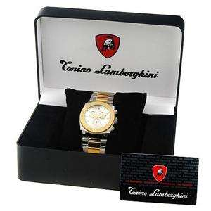 BNWT & Gift Box Tonino Lamborghini Mens Watch RRP $3049