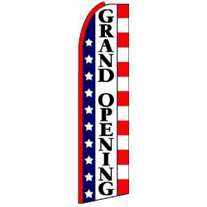 Grand Opening Stars & Stripes Extra Wide Swooper Feather