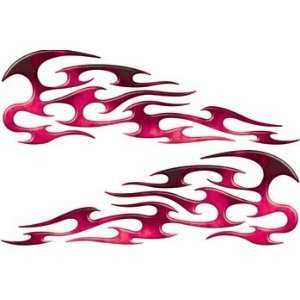 Real Fire Pink Tribal Motorcycle Gas Tank Custom Digitally