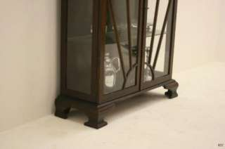 Superb Art Deco 1940s Display Case / Cabinet