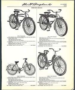1939 40 Ad Speed King Bicycles Tamk Light Fenders ORIGINAL ADVERTISING