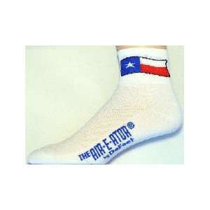 LANCES TEXAS STATE DeFeet COOLMAX RUNNING/CYCLING SOCKS