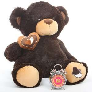 Pie Big Love Huggable Chocolate Brown Teddy Bear 30in Toys & Games