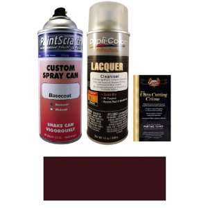 12.5 Oz. Dark Red Purple Metallic Spray Can Paint Kit for 1995 Nissan