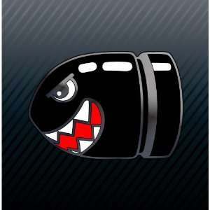 Bullet Bill Super Mario Game Sticker Decal