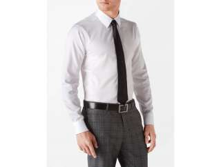 calvin klein mens slim fit non iron dress shirt
