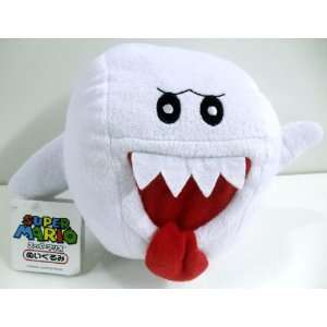 Adorable Super Mario Brothers 5 Boo Ghost Plush Toy