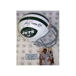 Joe Namath Autographed New York Jets Full Size Replica Throwback