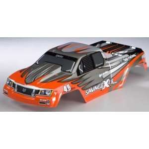 hpi racing Nitro GT 2 Painted Body, Red/Gray/SilverSAVX