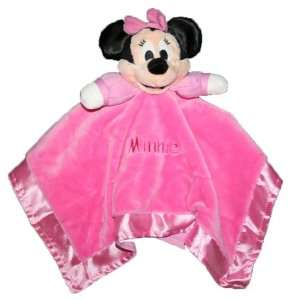 Disney Baby Minnie Mouse Lovey Snuggle Buddy Baby