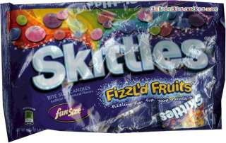 Bag Skittles Crazy Cores Fun Size Fruity Halloween Candy