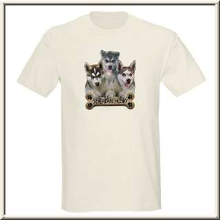 Siberian Husky Puppy Dog Bone T Shirt S XL,2X,3X,4X,5X