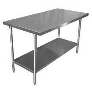 16 Gauge Stainless Steel Commercial Work Table 24 x 96