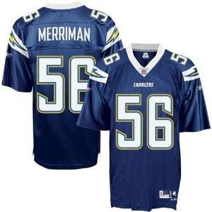 Shawne Merriman EQT Jersey   San Diego Chargers Jerseys (Navy) M