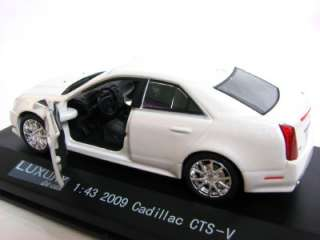 2009   Cadillac CTS V . scale 1/43 New in original Factory Hard Case