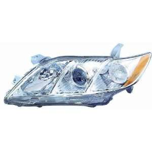 07 08 Toyota Camry Headlight ~ Left (Drivers Side, LH
