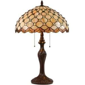 Darra Table Lamp With Tiffany Glass