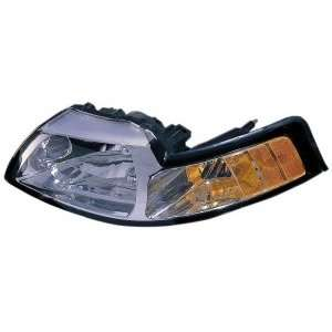 Ford Mustang Chrome Headlight Driver Side Automotive